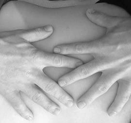 Osteopathie-Berührung-Reichel- Massage